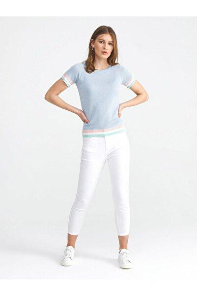 Xint Xınt Yüksek Bel Pamuklu Skinny Fit Denim Pantolon