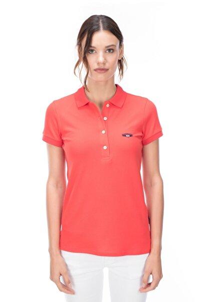 Galvanni Kadın  Pembe Polo Tişört - NYKO