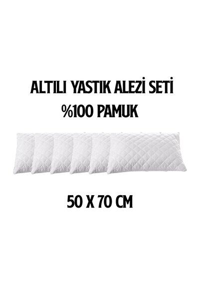 Roi 6'LI FERMUARLI KAPİTONELİ YASTIK ALEZİ / YASTIK KORUYUCU