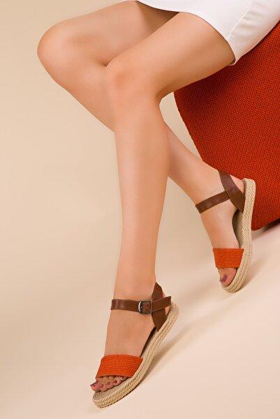 SOHO Orange Kadın Sandalet 14662