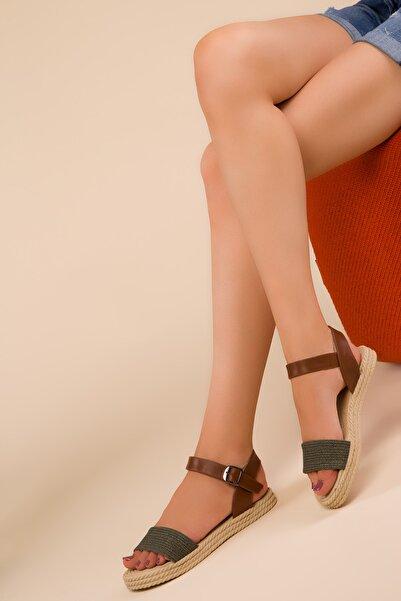 SOHO Yeşil Kadın Sandalet 14662