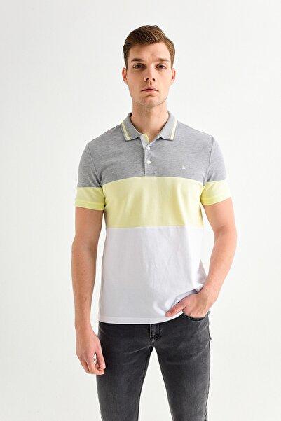 Avva Polo Yaka Parçalı T-Shirt