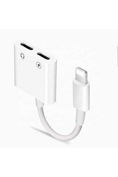 PST Lightning Kulaklık Şarj Çevirici Çoklayıcı Adaptör (apple Iphone Için)