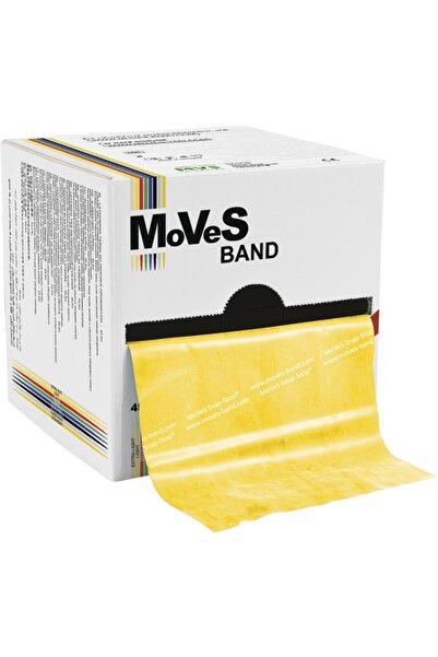 Moves Band 2,5 Metre Sarı Egzersiz Pilates Bandı,hafif Direnç Lastiği