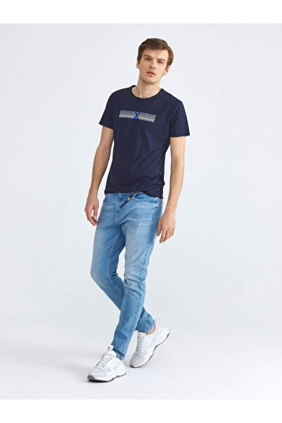 Xint Erkek Pantolon Pamuklu Skinny Fit Denim