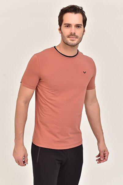 bilcee Kiremit  Pamuklu Erkek T-Shirt ES-2374