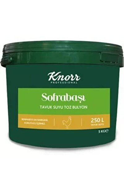 Knorr Sofrabaşı Tavuk Suyu Toz Bulyon 5 kg