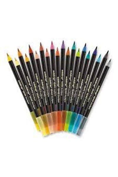1340 Brushpen Fırça Uçlu Kalem 20 Renk