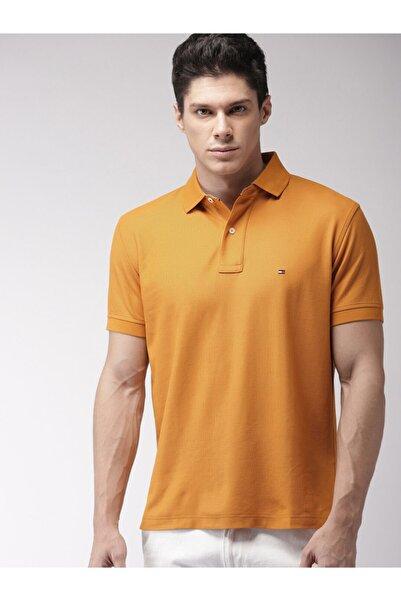 Tommy Hilfiger Klasik Polo Tişört Hardal Sarısı Regular Fit/mw0mw02299