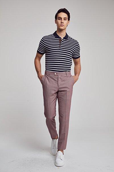 Twn Kırmızı Renk Erkek  Pantolon (Slim Fit)
