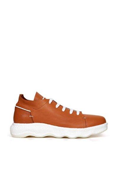 BUENO Shoes Hakiki Deri Bağcık Detaylı Erkek Spor Ayakkabı 20mr9101