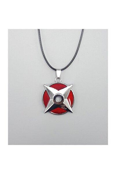 Köstebek Naruto - Shuriken Logo Kolye