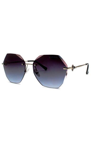 Safari 31516 C100 Füme Bizote 60-16-144 Kadın Güneş Gözlüğü
