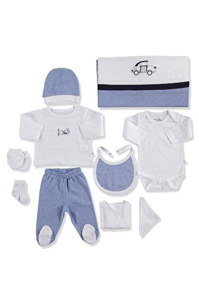 For My Baby 20919 Maris Pamuklu Erkek Bebek 10'lu Hastane Çıkışı