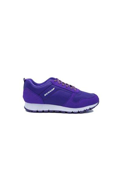 DUNLOP Kadın Günlük Mor Yürüyüş Ayakkabı 505147580-1