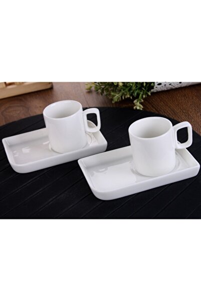 Bella Porselen 2 Li Kahve Fincan Seti