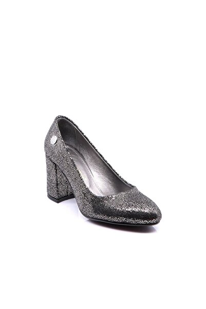 Mammamia D18Ka-3130 Kadın Deri Ayakkabı Platin Sim