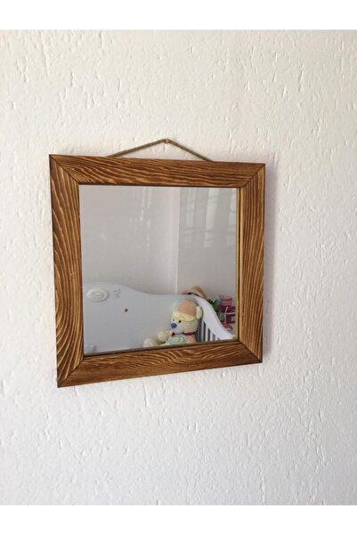Emek Dekoratif 30x30cm Ayna Eskitme