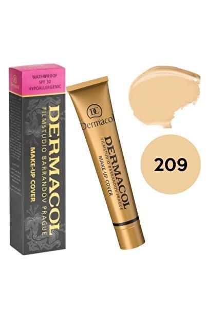 Dermacol Make Up Cover Fondöten Şeftali Tonu/çok Açık Bej 209