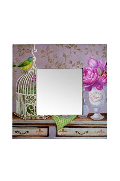 GizHome Giz Home Kanvas Ayna 60 08-kuş Kafesi