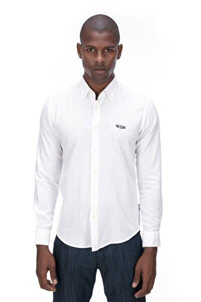 Galvanni Erkek Beyaz Gömlek