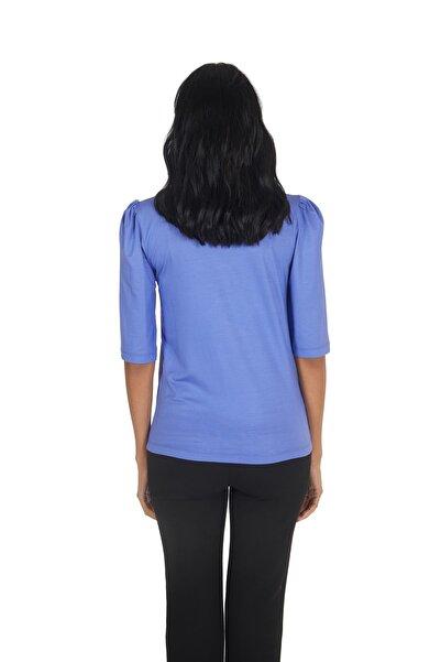 Kadın Hotfix Viskoz-lycra T-shirt-bluz