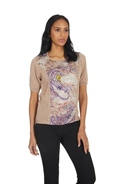 Kadın Triko Japon Stil Pamuk Rayon Lüks Bluz