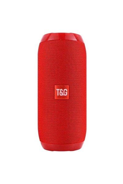 TG Extra Bass Bluetooth Hoparlör Taşınabilir Kablosuz Ses Bombası Kırmızı