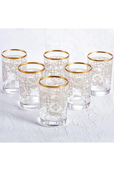 Karaca Sare 6lı Kahve Yanı Bardağı Gold