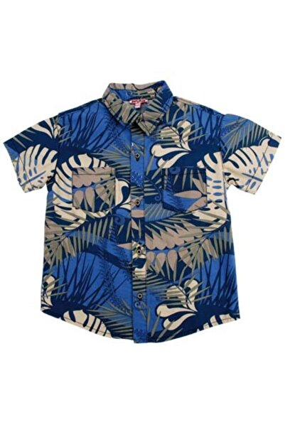 Zeyland Palmıyelı Unisex Çocuk Gömlek