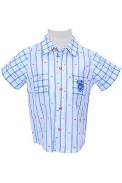 Zeyland Mavı Erkek Bebek Gömlek 71M1ERF81