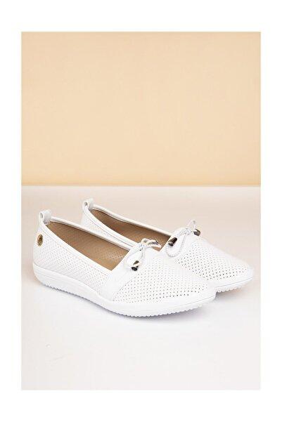 Pierre Cardin Kadın Günlük Ayakkabı-beyaz