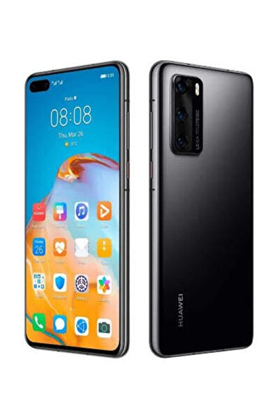 Huawei P40 128GB Siyah Cep Telefonu (Huawei Türkiye Garantili)