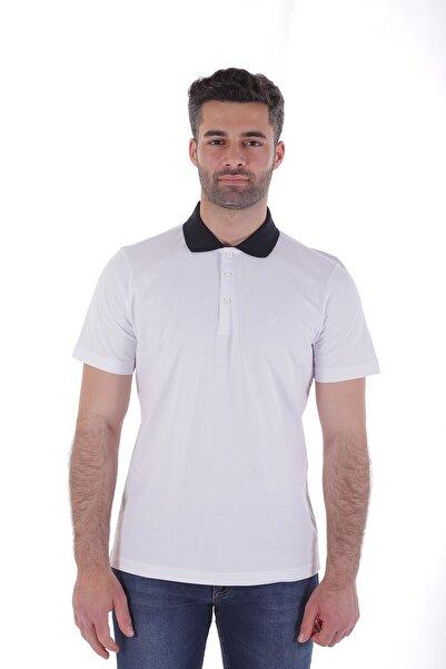 Diandor Polo Yaka Erkek Tişört O.Beyaz 2017003