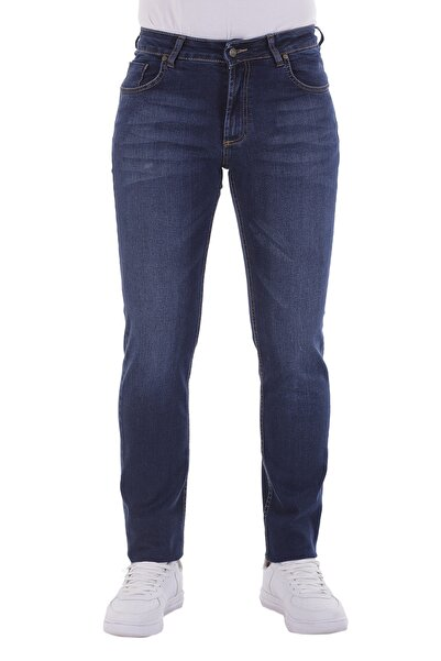 Diandor Slim Fit Erkek Kot Pantolon V4 1813200