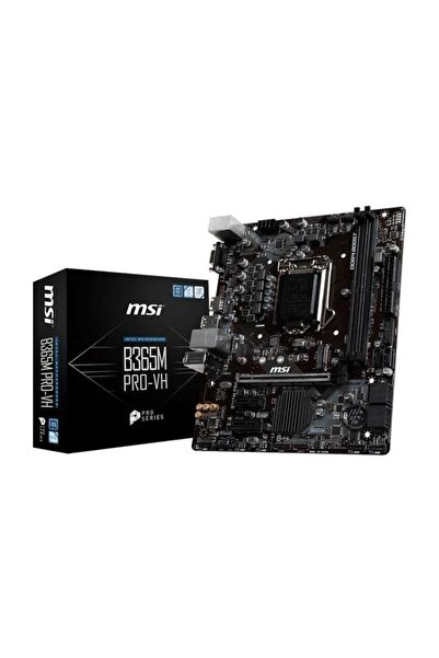 MSI B365M PRO-VH Intel B365 1151 Soket 2666MHz DDR4 USB 3.1 HDMI Anakart