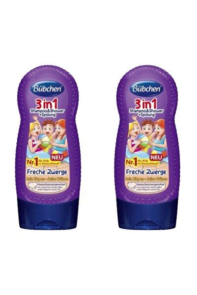 Bübchen 3ü 1 Arada Çocuk Şampuanı Ve Duş Jeli 230 Ml X 2 Adet