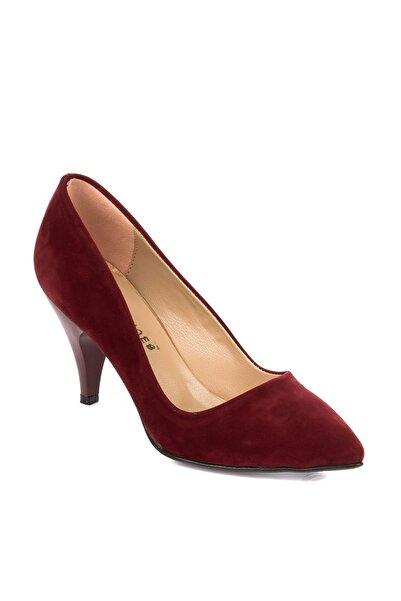Fox Shoes Bordo Kadın Topuklu Ayakkabı A922151102