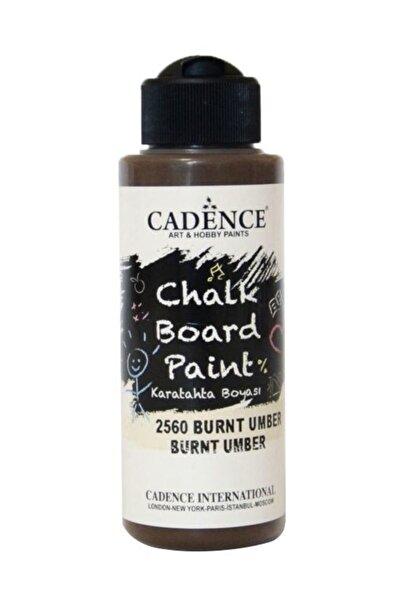 Cadence Chalkboard Paint 120ml Kara Tahta Boyası 2560 Burnt Umber