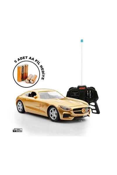 Suncon 1:20 Uzaktan Kumandalı Suncon Spor Araba Metalik - Sarı - Çizgisiz