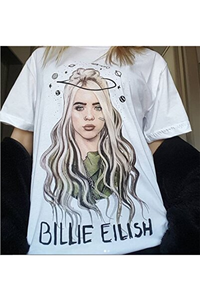 Köstebek Billie Eilish Galaxy Unisex T-shirt