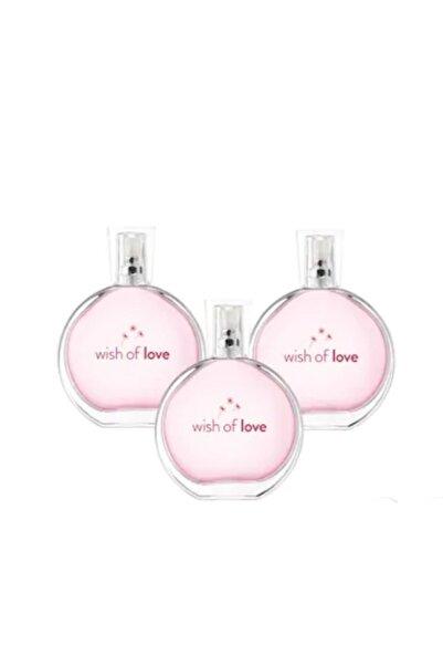 AVON Wish Of Love Kadın Parfüm Edt 50 Ml 3'lü Set