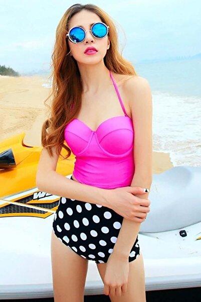 Kadın Pembe Bikini Üstü 954068