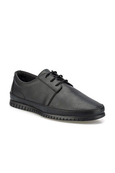 160004.m Siyah Erkek Klasik Ayakkabı