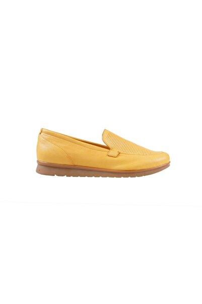 Greyder Kadın Sarı Loafer Ayakkabı 0Y2FA57354