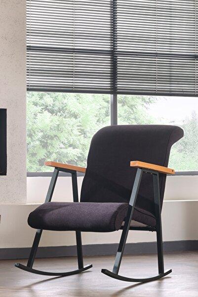 Pafu Yoka Sallanan Sandalye - Siyah
