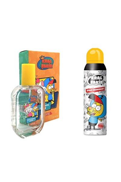 Kral Şakir Lisanslı 50 ml Edt Parfüm + 150 ml Dedorant