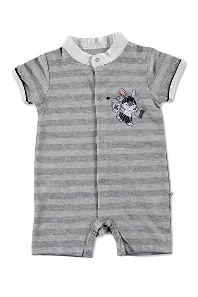 For My Baby Bunny Yakalı Bebe Salopet Tulum