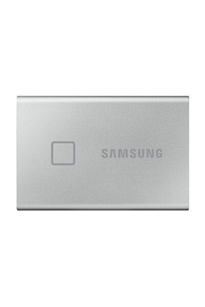 Samsung Taşınabilir SSD T7 Touch USB 3.2 500GB (Gümüş) MU-PC500S/WW