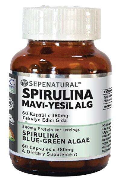 Sepe Natural Spirulina 60 Kapsül Yosun Hapı